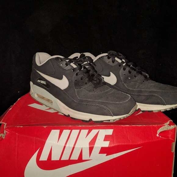 Nike Air Max 90 Essential LTR (Black Mortar Mine Grey